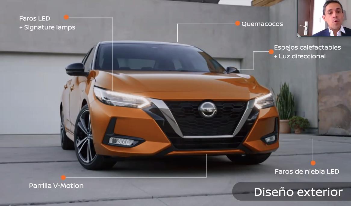 Nissan brinda un espacio especial al nuevo Sentra