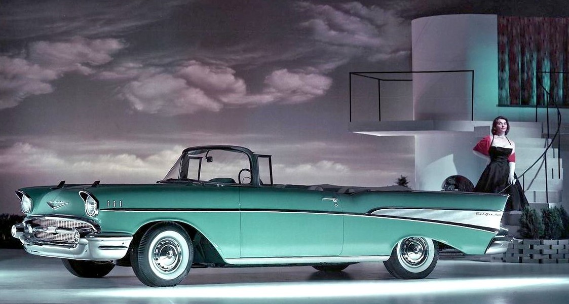 Chevrolet Bel Air 1957 convertible