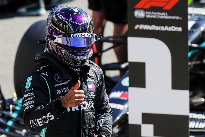 Lewis Hamilton saldrá desde la pole en Monza, Pérez cuarto