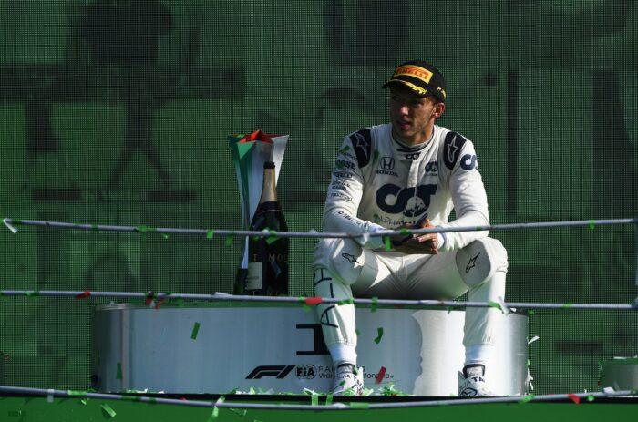 Gasly esta listo para volver al equipo Red Bull Racing