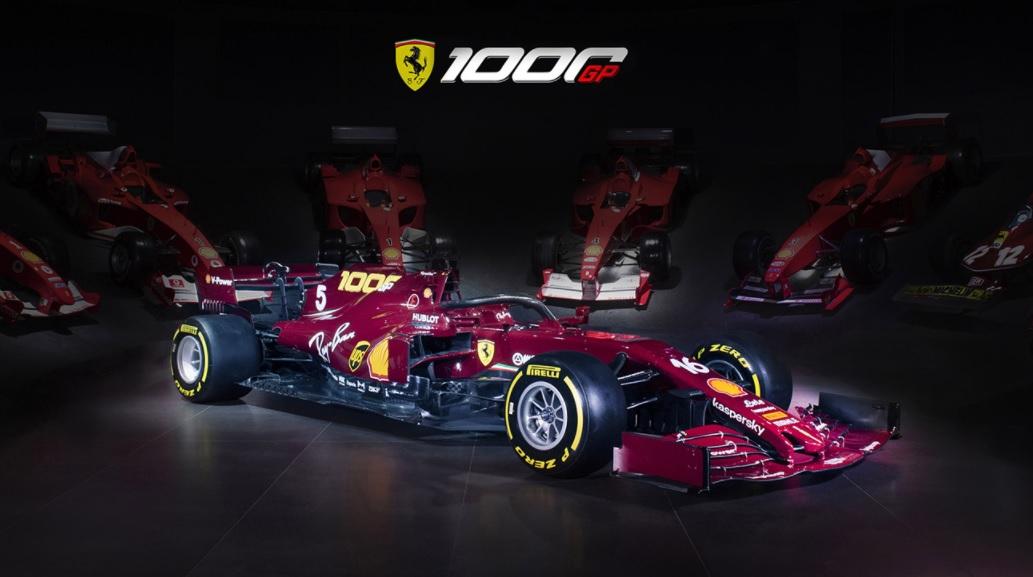 La Scuderia Ferrari celebrará su GP 1000 con un diseño retro