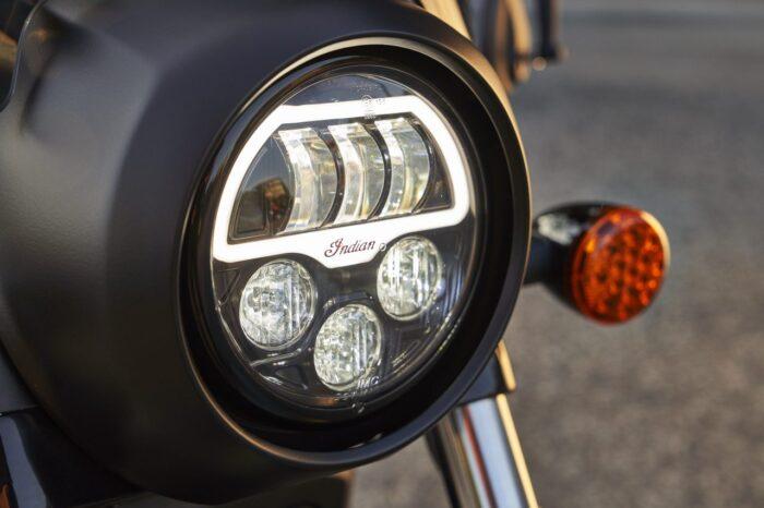 Iluminación en modelos 2021 Indian Motorcycle