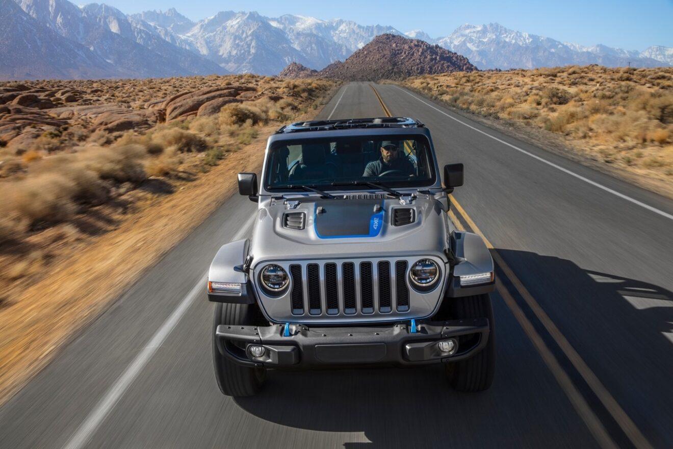 Jeep Wrangler 4xe, el más potente y silencioso