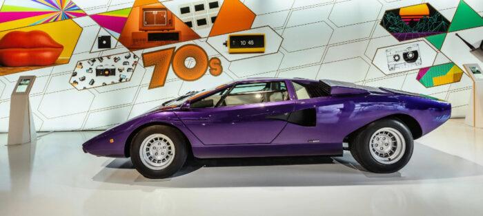 Museo Lamborghini Mudetec con grandes piezas de la historia de la marca