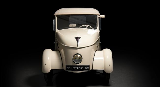 El primer vehículo eléctrico Peugeot comercializado en 1941