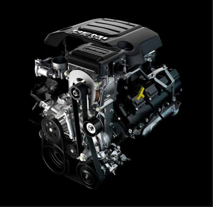Motor HEMI de la RAM 1500 Mild-Hybrid 2021