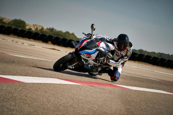 Un diseño espectacular en  la primera motocicleta M de BMW Motorrad