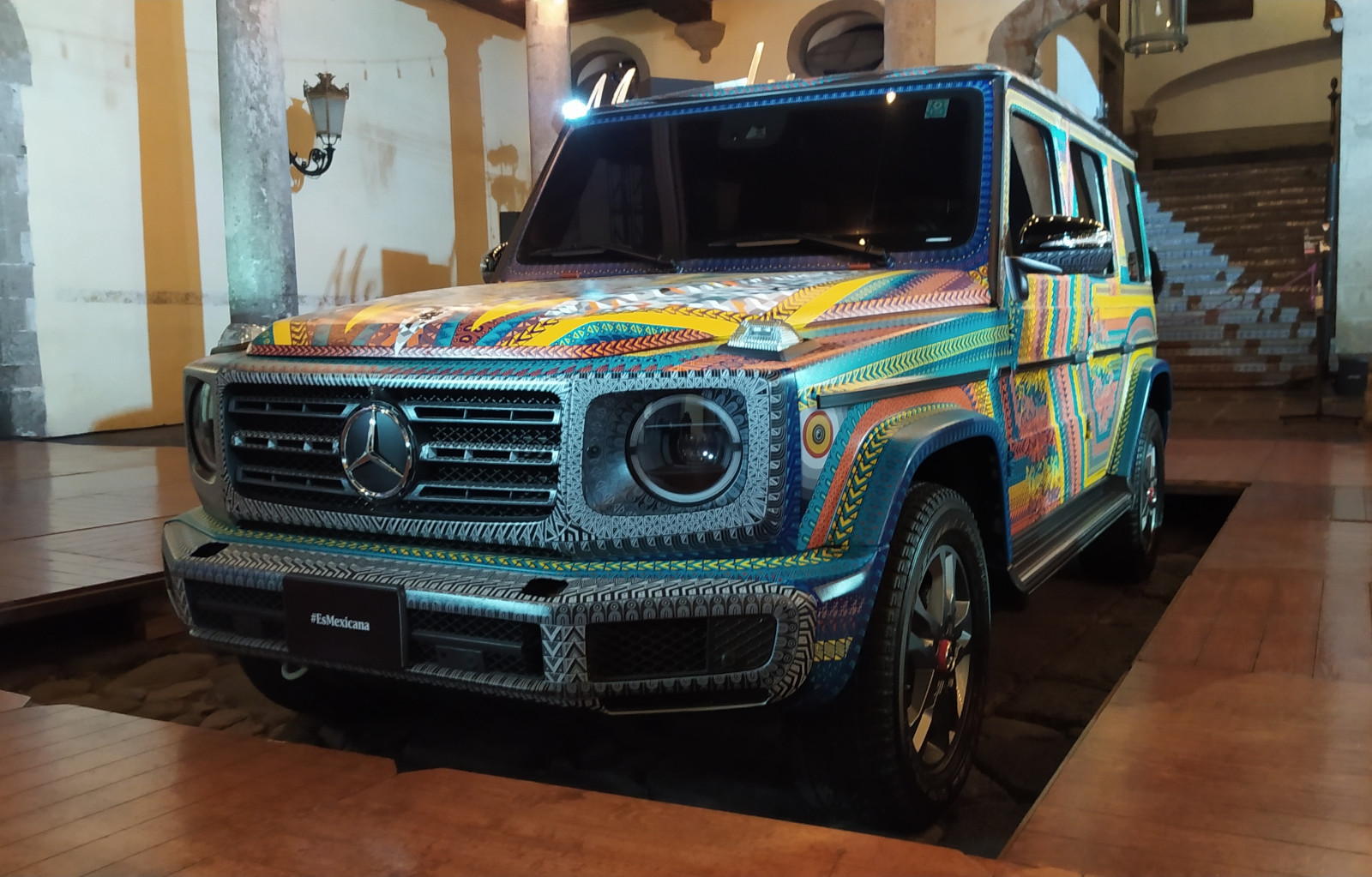 Una Clase G de Mercedes-Benz muy mexicana