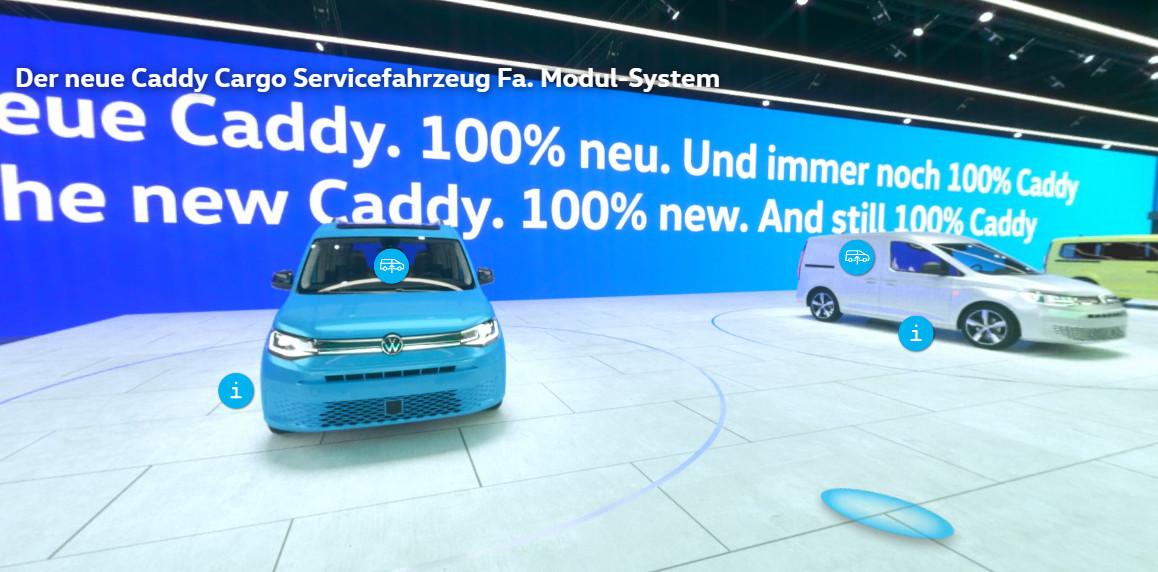 Volkswagen Vehículos Comerciales exhibe sus nuevos modelos de manera virtual