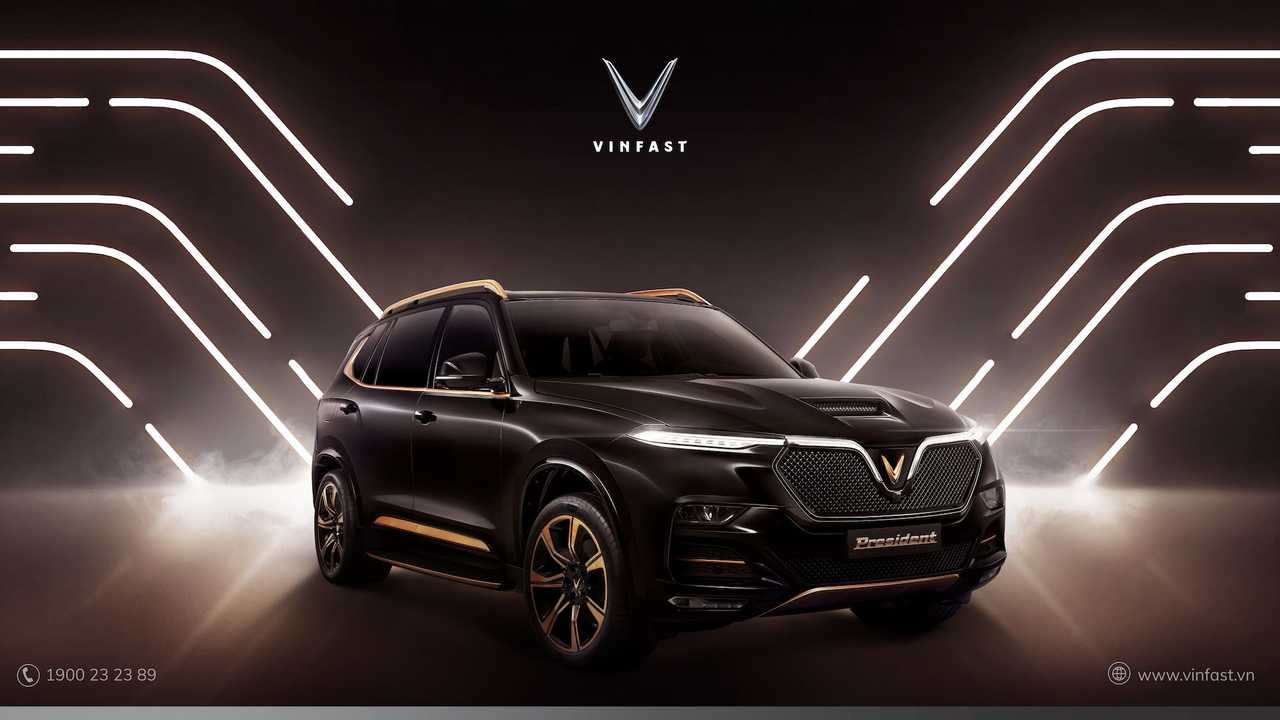 VinFast President, la camioneta de lujo desde Vietnam