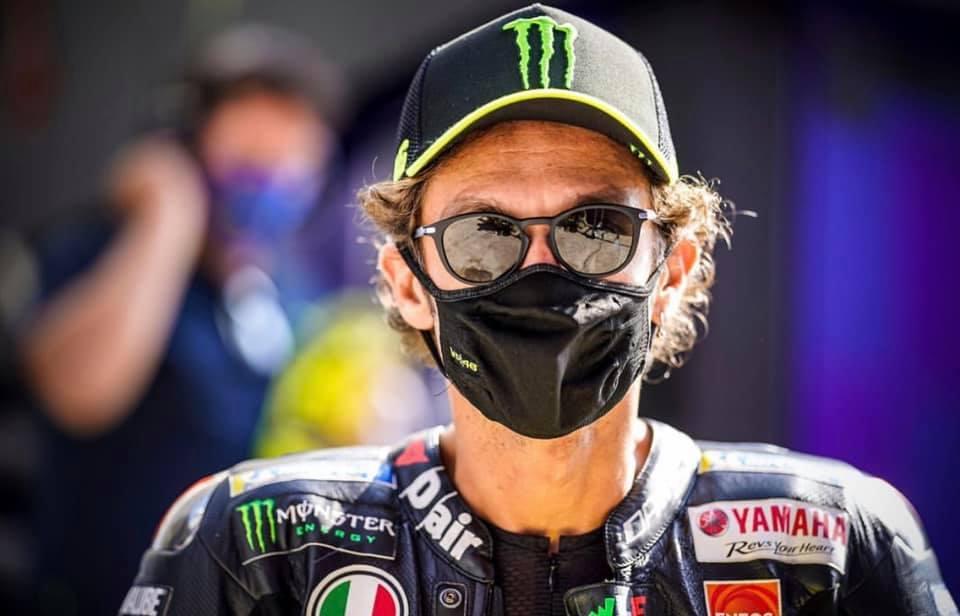 Valentino Rossi da positivo a COVID-19