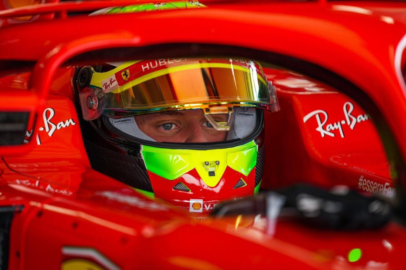 Mick Schumacher se prepara para su debut en la Fórmula 1