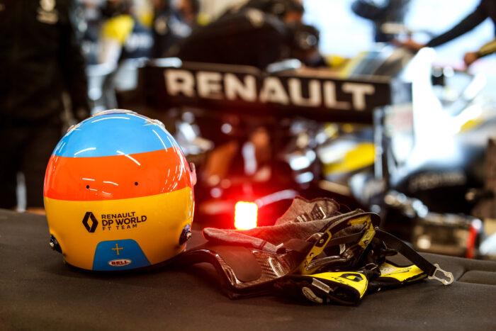 Fernando Alonso regresó al mando de un Fórmula 1