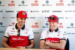 Alfa Romeo mantendrá a Raikkonen y Giovinazzi en su alineación 2021