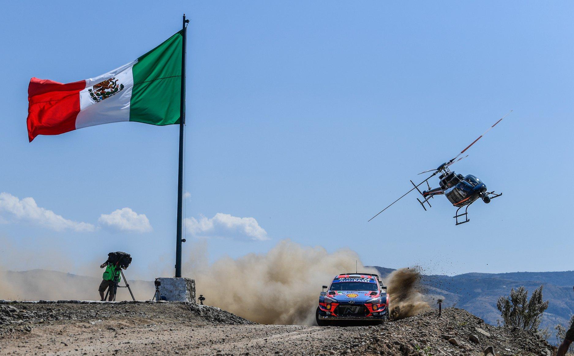 El Rally México no formará parte del calendario 2021 del WRC