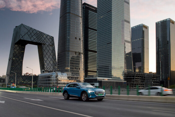 Audi aumentará producción de eléctricos en China