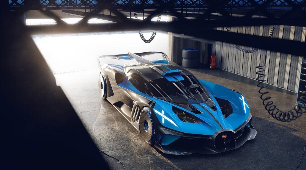 Bugatti Bolide Concept una locura que podría ser realidad