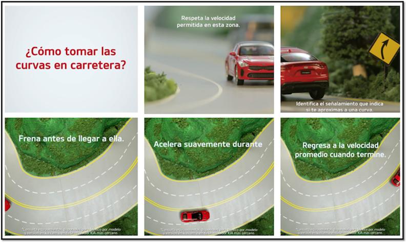 Diferentes tipos de curvas y cómo tomarlas en carretera