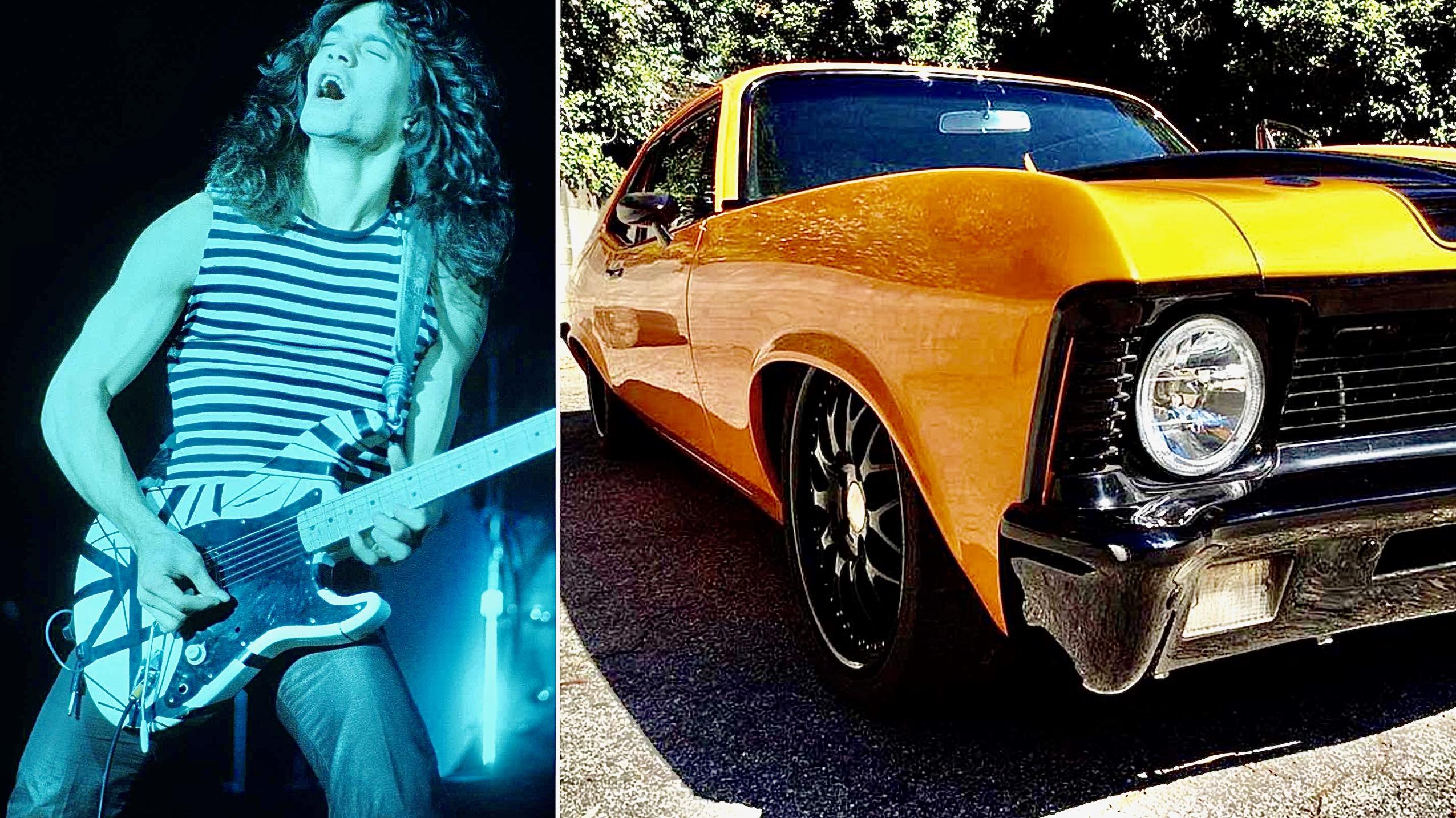 Recordamos a Eddie Van Halen, ¡con su asombrosa colección de autos!