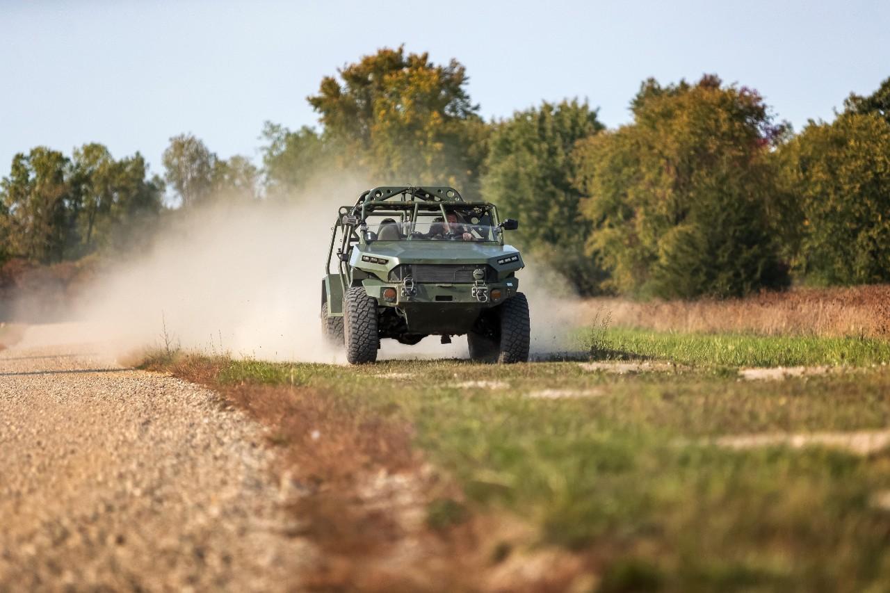 GM Defense entrega el primer vehículo militar