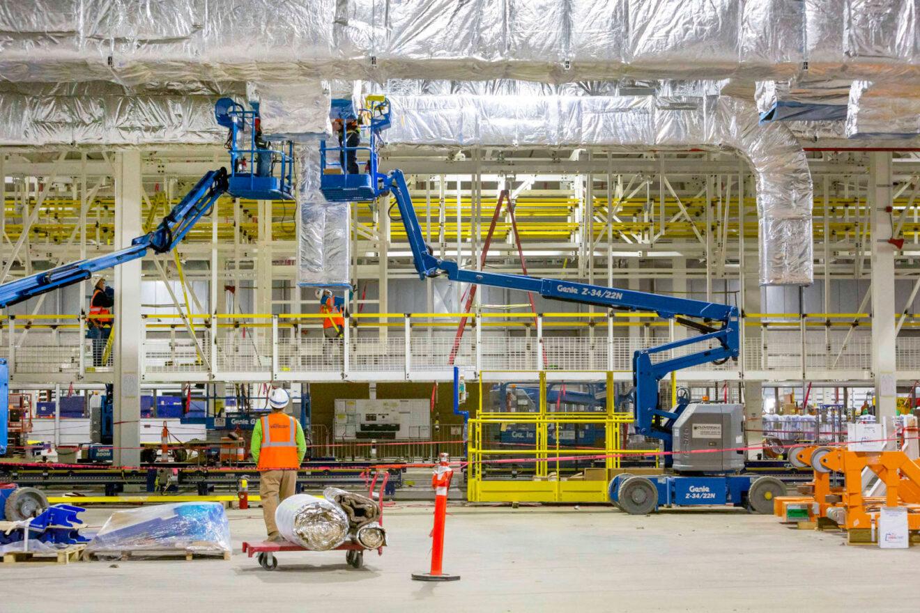 GM avanza en su planta de batería en Ohio