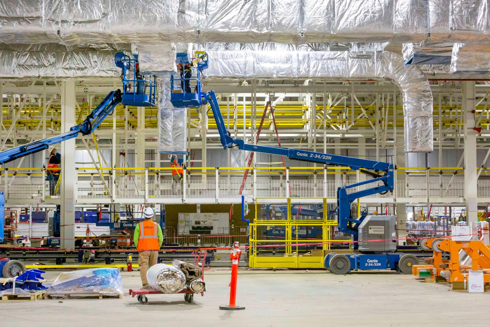 GM avanza en su planta de baterías en Ohio