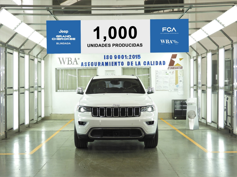 Jeep Grand Cherokee Blindada número mil