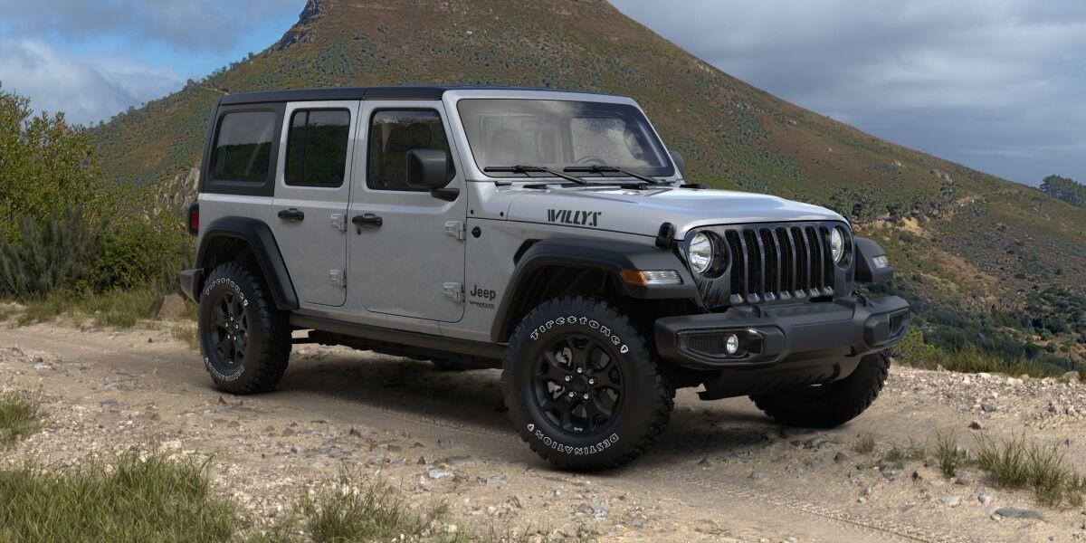 Jeep Wrangler Edición Willys 2021 disponible en México