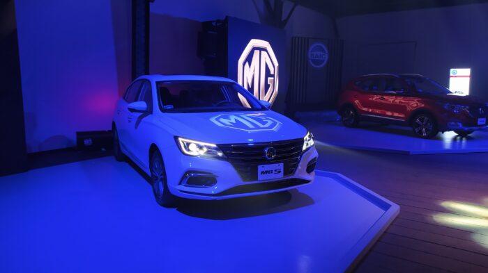 Sedán MG Motors