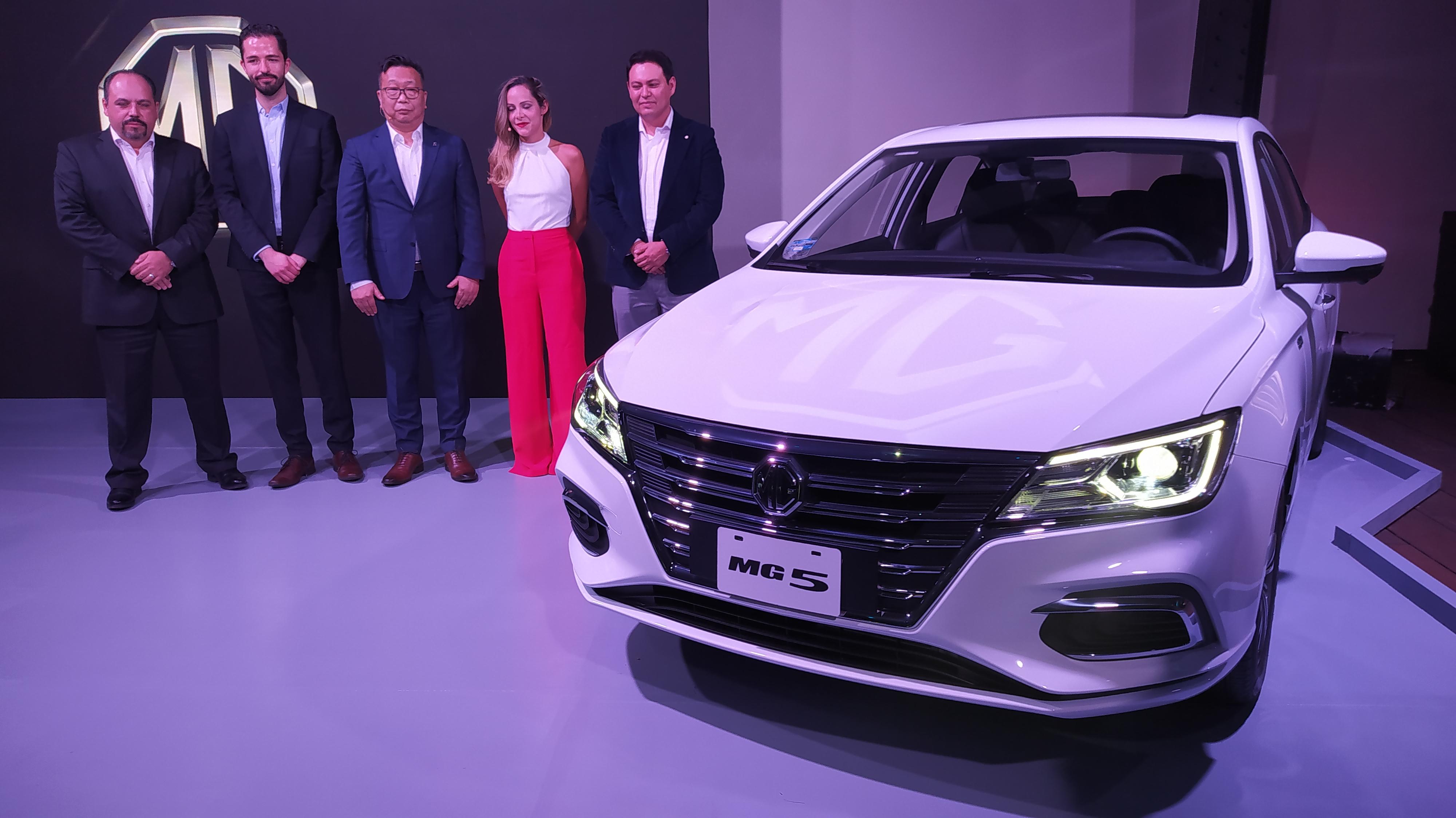 MG Motors llega a México con tres modelos