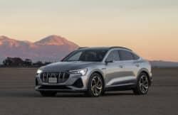Martes de deportivos Audi E-Tron Sportback, Jaguar I-Pace y Mercedes-Benz EQC