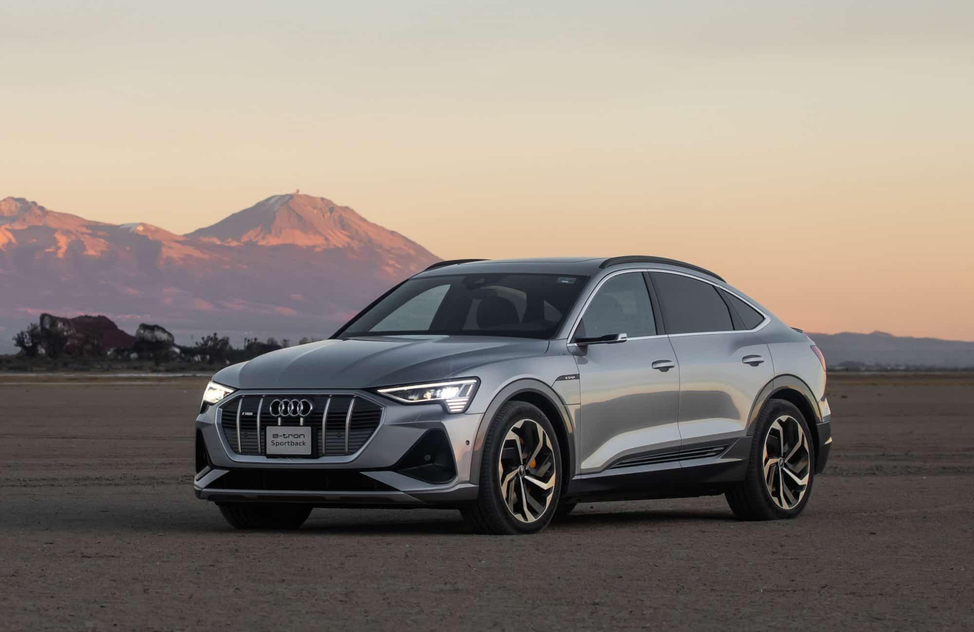 Martes de deportivos: Audi E-Tron Sportback, Jaguar I-Pace y Mercedes-Benz EQC