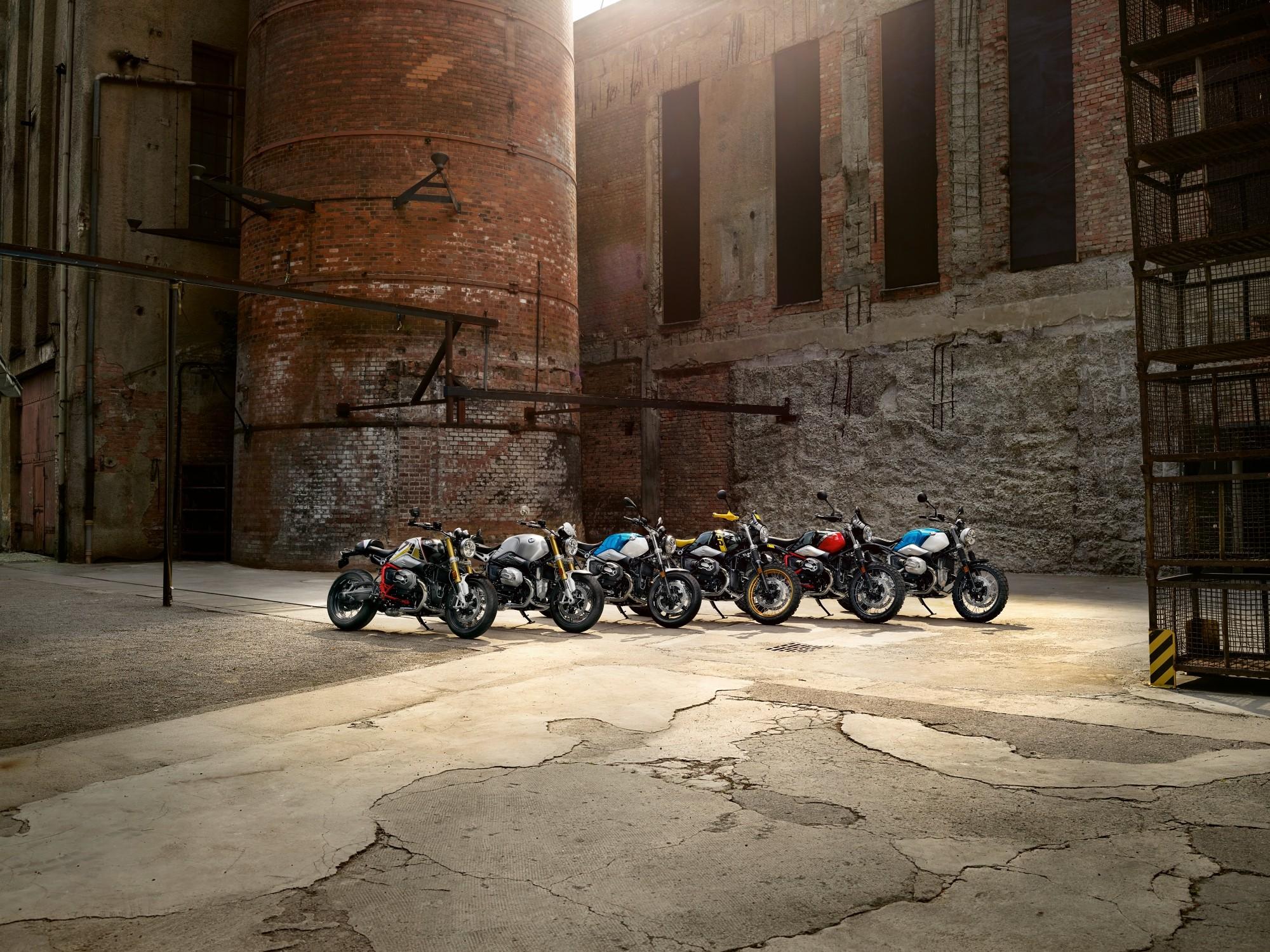 BMW presenta nuevos modelos de R nine T 2021