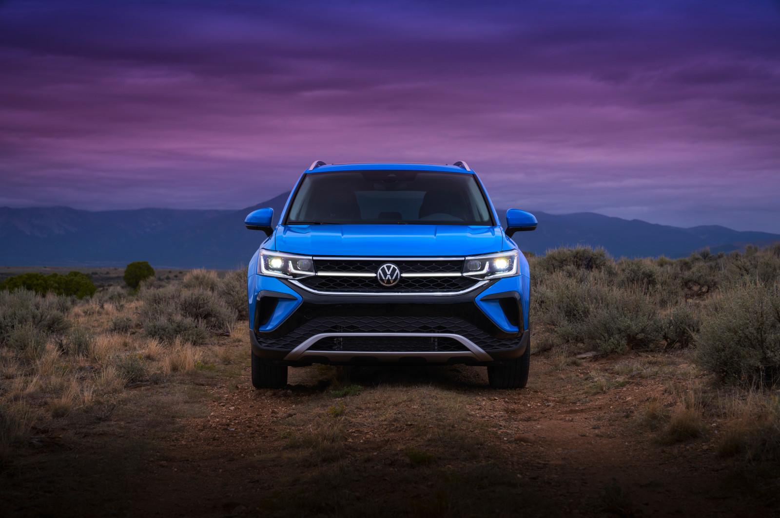 Volkswagen Taos en tres versiones con precios desde $449,990 a $535,990 pesos