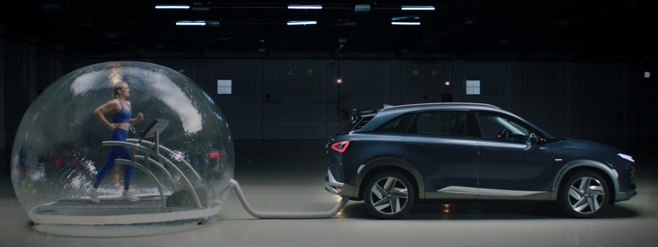 Hyundai NEXO purifica el aire al moverse