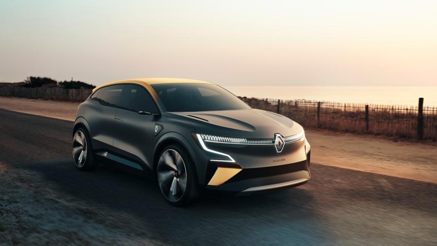 Renault escribe un nuevo capítulo eléctrico con Mégane eVision