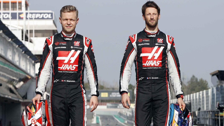 Grosjean y Magnussen dejarán Haas a finales de 2020