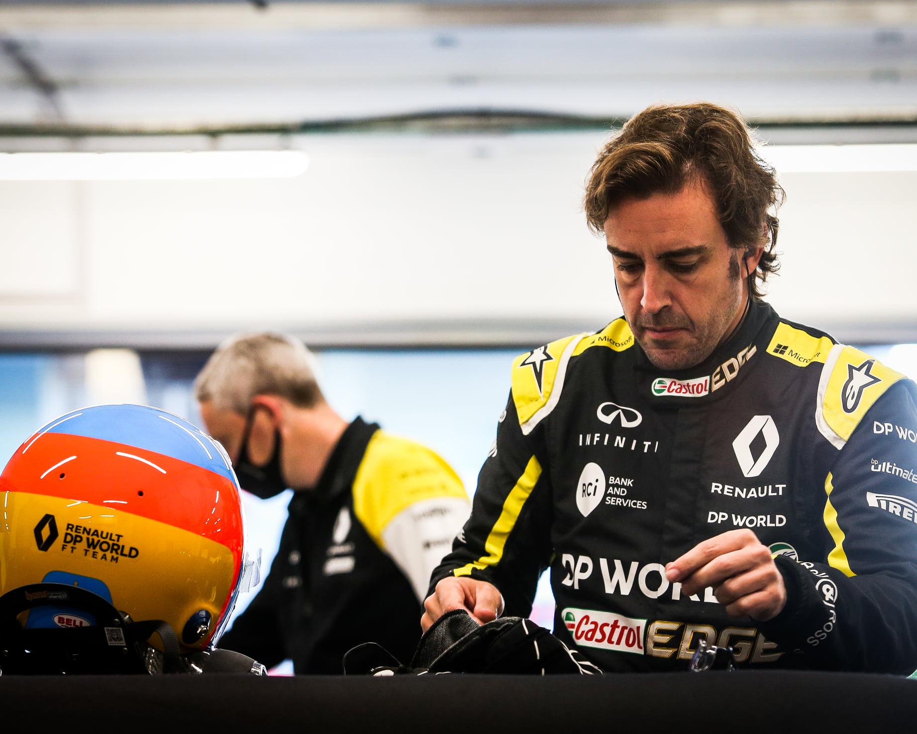 Alonso tendrá otra prueba con Renault en Abu Dhabi