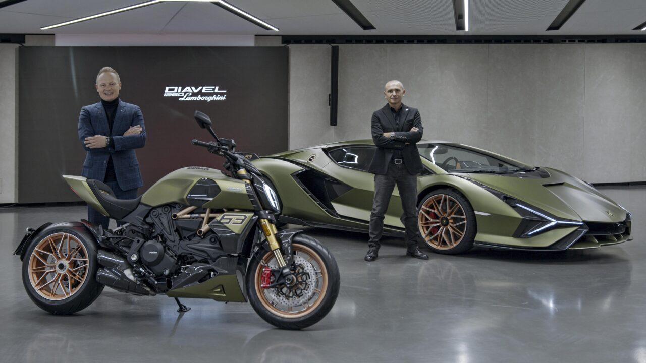 Ducati y Lamborghini se unen para crear Diavel 1260