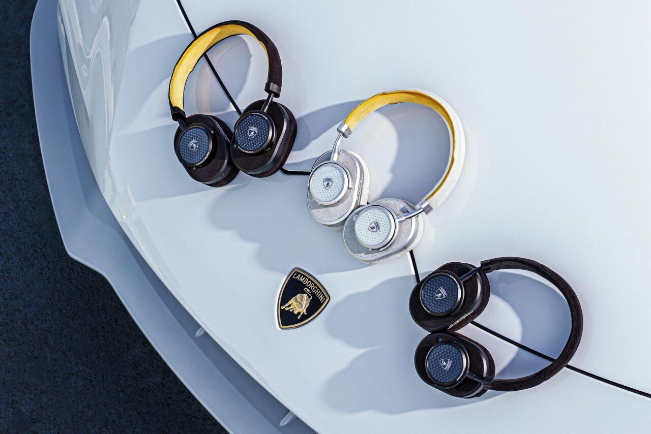 Lamborghini se asocia y crea una gama de auriculares y audífonos