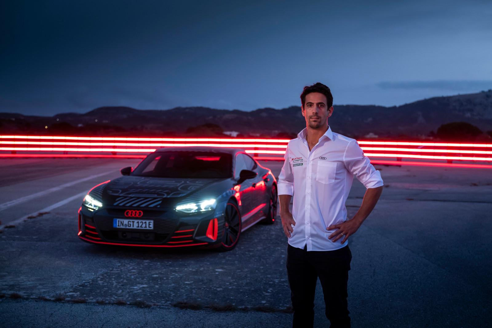 Audi RS e-tron GT Prototype se luce en el CES 2021