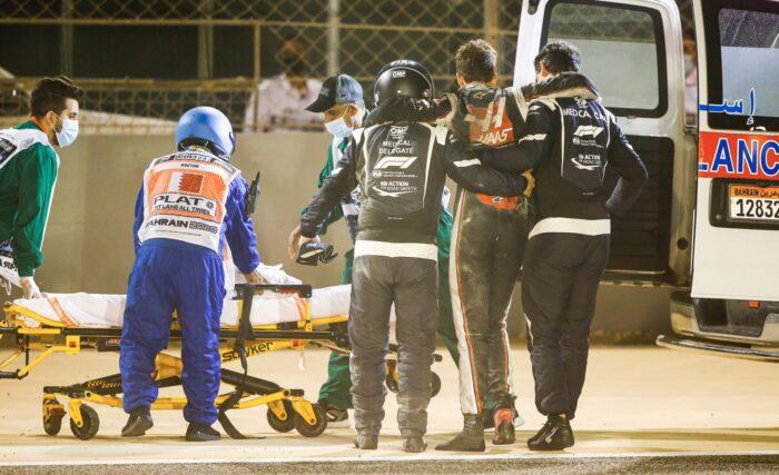 Hamilton gana tras el drama en Bahréin, Pérez pierde el podio