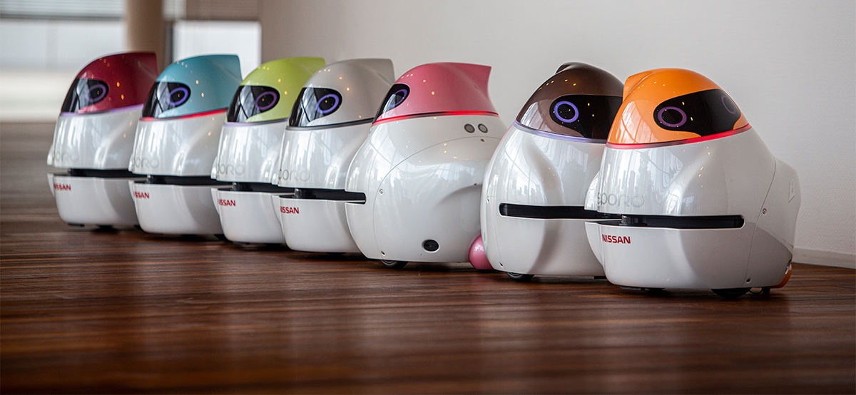 Eporo, el robot de Nissan que nos demuestra cómo funciona la conducción autónoma