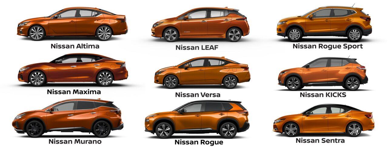 El color naranja de los autos de Nissan viene de una herencia deportiva