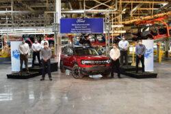 Comienza la producción de Ford Bronco Sport en México