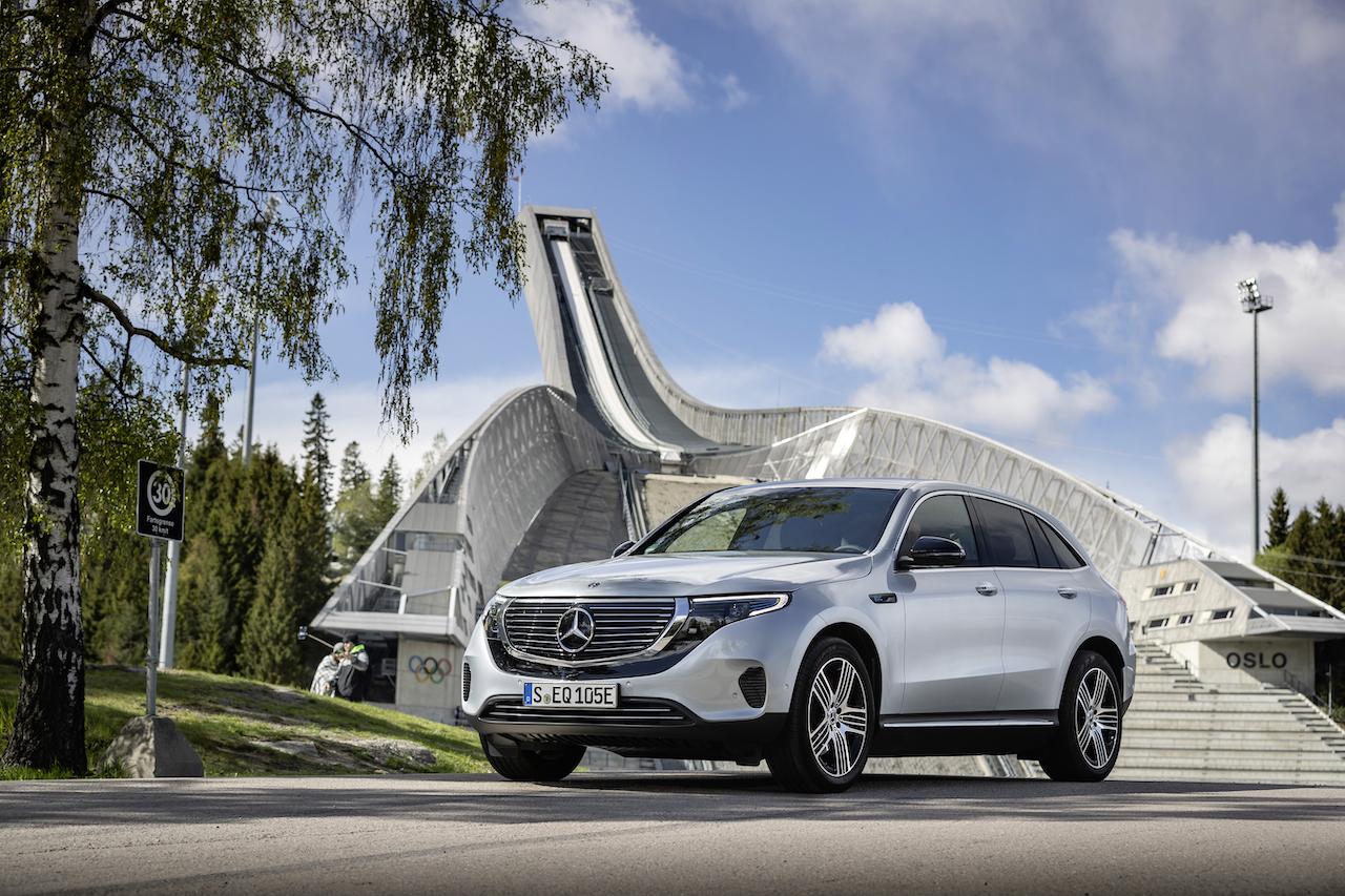 Mercedes-Benz da la bienvenida a una nueva era: #SwitchToEQ