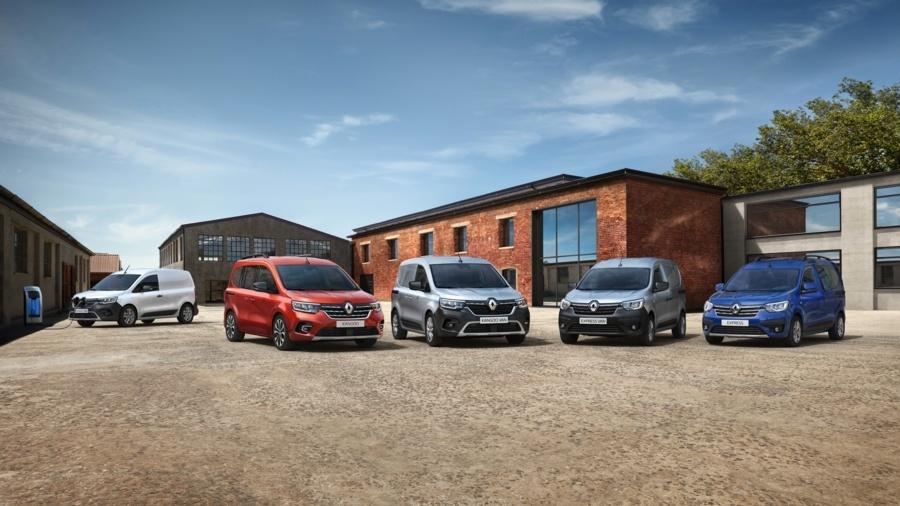 Renault Kangoo luce más atlética y profesional