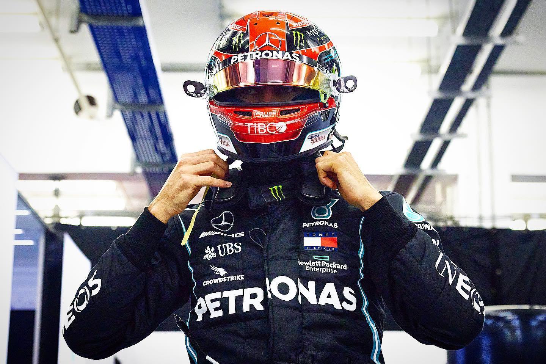 Russell se queda muy cerca de la pole position