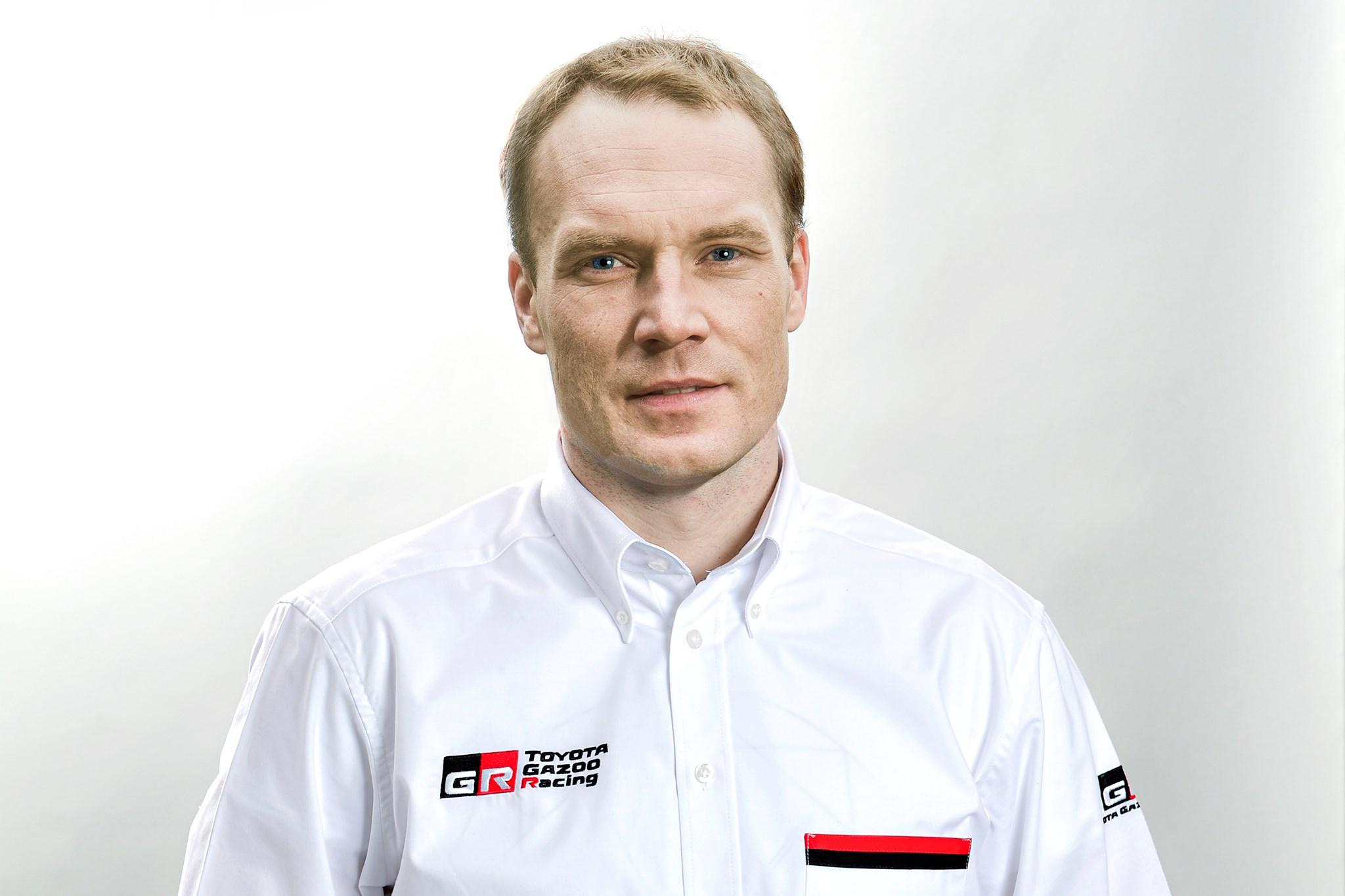 Latvala es nombrado director del equipo Toyota