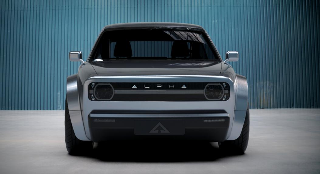 Alpha ACE, el controversial eléctrico con diseño retro